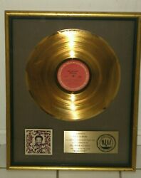 Bill Withers Riaa Gold Sales Award For 1977 Album Menagerie Featuring Lovely Day