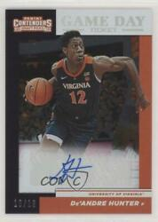 2019-20 Contenders Draft Picks Playoff Ticket /18 De'andre Hunter 7 Rookie Auto