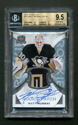 Mattt Murray 2015 The Cup Rc Rpa Patch Auto Bgs 9.5 Gem Mint Auto 10 Pop 1 Of 15