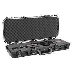Plano PLA11836 36quot; All Weather Hard Sided Tactical Rifle Long Gun Case Black