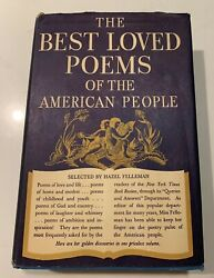 The Best Loved Poems Of The American People By Hazel Felleman Book Club 1936