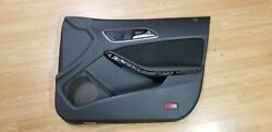 2016 Mercedes Cla45 Amg Front And Rear Door Panel Black And Red Stitching