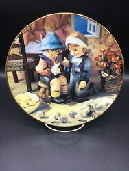 Tender Loving Care - Hummel Little Companions 8 Inch Collector Plate