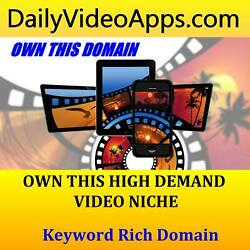 ✅ Dailyvideoapps .com - Premium Keyword Domain - Video And Mobile App Business