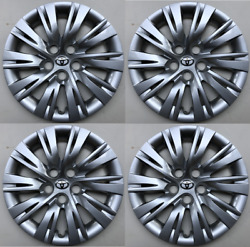 4 X Full Set 16 Hubcaps Fits Toyota Camry 2012 2013 2014 Wheels Cover