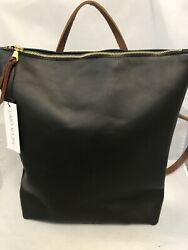 Neva Opet Oil Waxed Leather Nico Zip Backback NWT