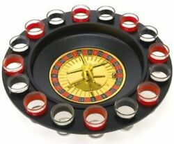 Drinking Game Glass Roulette Drinking Game Set 2 Balls and 16 glasses $19.95