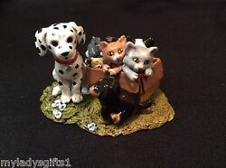 Wee Forest Folk Special Wff For The Humane Society 2014 W/ Dogs And Cats Sold Out
