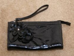 Nine amp; CO. Black Handbags Small Zip Closure Wristlet   $15.00