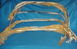 Nos 81 82 83 84 85 86 87 Chevy Gmc Truck Wheel Opening Trim Molding Front Rear