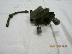 1948-51 Neptune 5 Hp Carburetor Knobs And Fuel Line Assembly Used