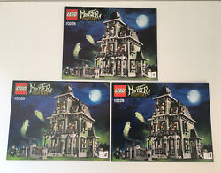 Lego Brand New Instruction Manual Monster Fighters 10228 Haunted House Set Of 3