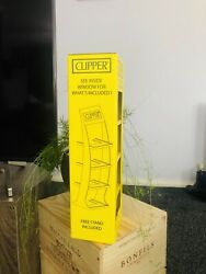 Clipper Lighter Display Stand 4 Tier Holds 96 With Box   lighters Not Included