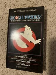 Ghostbusters The Supernatural Spectacular By Richard Mueller 1st Tor Printing