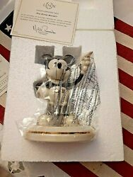 Lenox Disney Pie Eyed Mickey Mouse Figurine New In Box, Never Taken Out