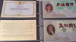Diana Princess Of Wales Ltd Ed Commonwealth Stamp Cover Collection Benhams