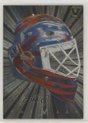 2001 Itg Be A Player Between The Pipes Mask Silver Vault Gold 1/1 Damian Rhodes