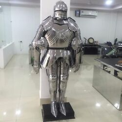 Suit Of Armor Functional Plate Knight Collectible Full Gothic Wearable Costume