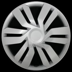 17 Silver Set Of 4 Wheel Covers Full Rim Hub Caps Fit R17 Tire And Steel Wheels