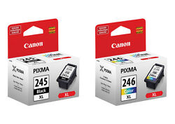 Genuine Canon Pg245 Xl Black Cl246 Xl Color Ink 245 246 For Mg2920 Mg2922 Mg2924