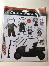 RealTree Camo Graphics Family Decals Peel and Stick Camouflage Stickers New