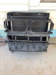Bmw X6 Radiator Core Support W/condensor Cooling Fan Cooler 08 09 10 11 12 13 14