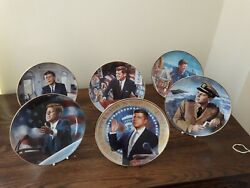 Franklin Mint John F Kennedy Plate Collection