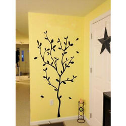 Tree Branches Black Vinyl Wall Stickers Removable Vinyl Room Home Decor US