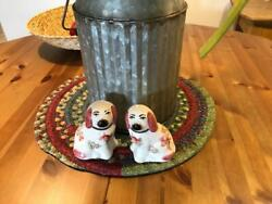 mini Dogs With Roses From Staffordshire England