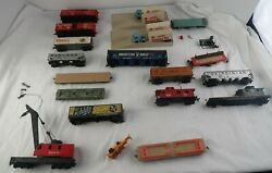 Vintage Tyco Ho Scale Train Car Lot - Over 15 Cars