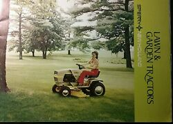 Sperry New Holland S14 Lawn Garden Tractor Color Advertise Sales Brochure Ariens