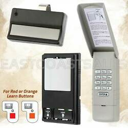 For Liftmaster Sears Garage Door Keypad 977lm + Visor Remote 971lm + Wall 78lm