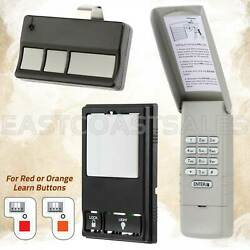 For Liftmaster Sears Garage Door Keypad 977lm + Visor Remote 973lm + Wall 78lm