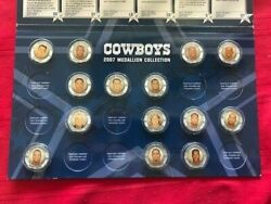 Dallas Cowboys 2007 Medallion Collection Booklet W/ 14 Medallions