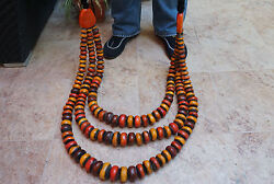Oversized Handmade Amber Moroccan African Collectible Bohemian Necklace 4.9kg