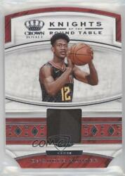 2019-20 Panini Crown Royale Knights Of The Round Table De'andre Hunter Rookie