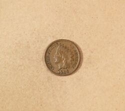 1908-s Indian Head Cent Grades Fn/ Btr, Semi-key Coin For The Date Collector.