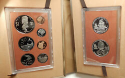 1974 Cook Islands Captain James Cook 2 Silver Of 9 Coin Antique Proof Set I76404