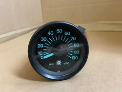 Bombardier 10000 Rpm Tachometer Blue Lettering -- Made In Japan