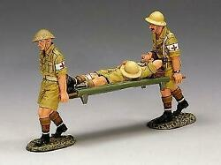 Ea028 - King And Country - 8th Army - Desert Stretcher Party - Retired