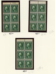 Early High Quality Booklet Pane Collection Many Vf Nh Cat 1859.75 - Stuart Katz