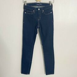 Calvin Klein Jeans Dark Wash Mid-Rise Skinny Jeans Size 26 #16 $15.00