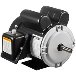 1.5hp Electric Motor 56 Frame Single Phase 3450rpm Tefc 5/8 Shaft General 2pole
