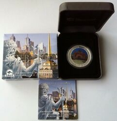 2013 1 Melbourne Anda Coin Show Special Sister Cities 1oz Silver Proof Coin