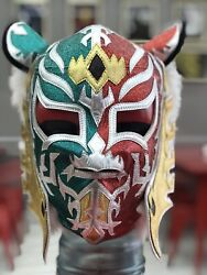 Mexican Wrestling Mask Of Lucha Pro Grade Mil Mascaras Rey Misterio Tiger Mask