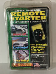 Bulldog Security Remote Starter Keyless Entry RS700 New 2 units AVAILABLE