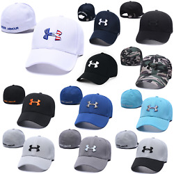 Embroidered Adjustable Under Armour Comfy Fit Golf Baseball Cap Unisex Sun Hat