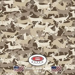 Deer Buck Silhouette Wrap Vinyl Truck Camo Car Suv Real Camouflage 52x6ft