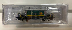 Bluford Shops N Scale Toledo Peoria And Western Bay Window Caboose 525 New