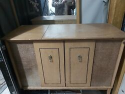 Zenith Vintage Stromberg Carlson Record Player Console Am/fm Tuner Stereo